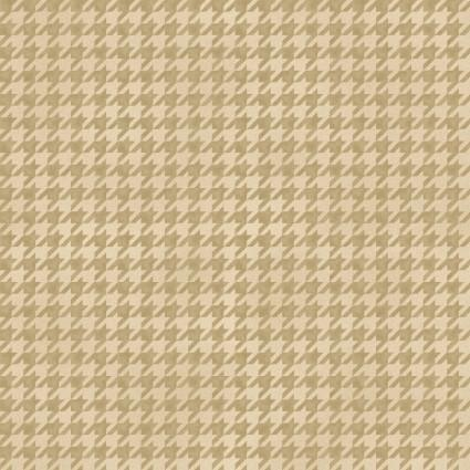 Maywood Studio Arabella Shaded Houdstooth Beige