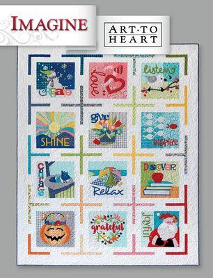 Nancy Halvorsen Imagine Art to Heart Book
