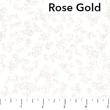 Northcott Radiance - Rose Gold Metallic