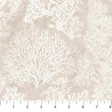 Northcott White Sands Coral Neutral