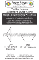 Paper Pieces Millefiore Quilt-Along Rosette Finishing Pack