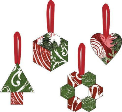 Paper Pieces More Christmas Ornaments Pattern & Templates