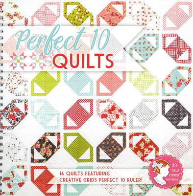 It's Sew Emma Perfect 10 Quilts Book