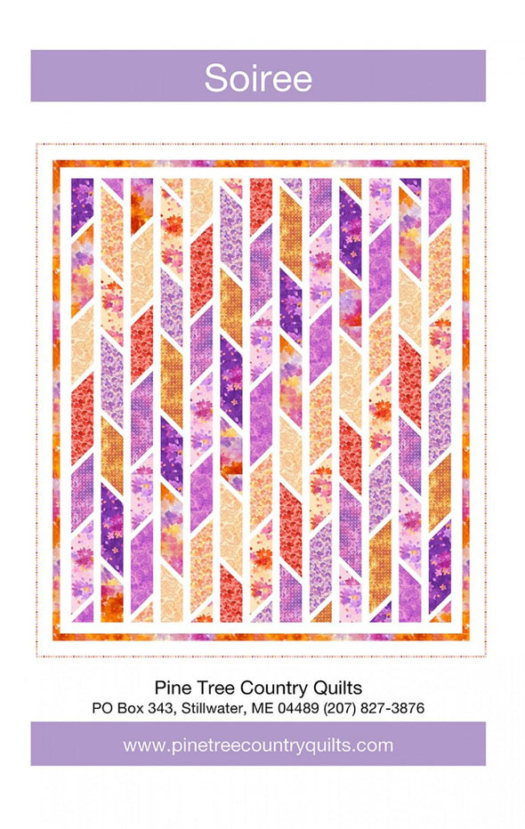 Pine Tree Quilts Soiree quilt pattern