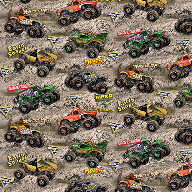 Print Concepts Inc - Monster Trucks on Dirt
