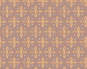 QT Fabrics - Woodland Dream Star - Brown