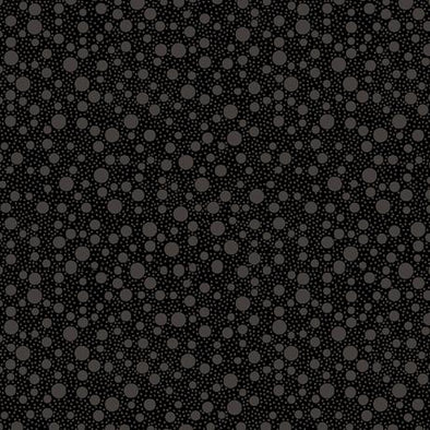 Quilting Treasures Fabrics Quilting Illusions Dots Black