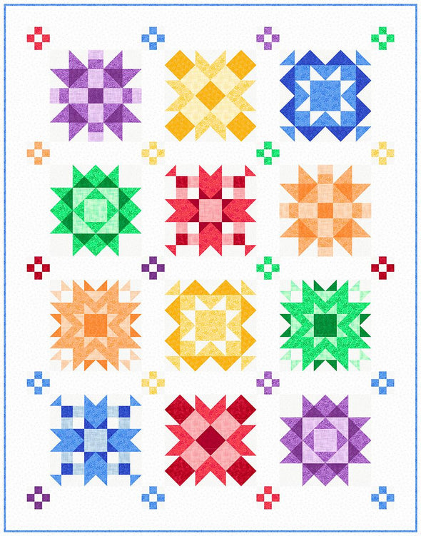 Quilting Treasures Harmony Kit Allegro Bright