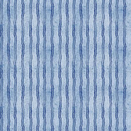 Quilting Treasures Fabrics Hungry Animal Stripe Blue