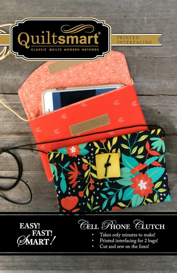 Quiltsmart Cell Phone Clutch Fun Pack