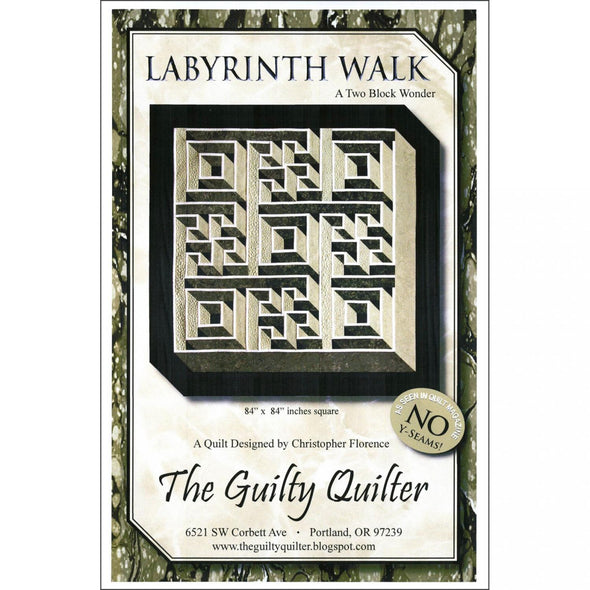 Quilty Quilter Labyrinth Walk Pattern