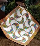 Rainbow Swirls - Quilt Pattern