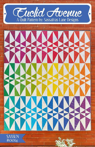 Sassafras Lane Designs Euclid Avenue Quilt Pattern