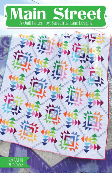 Sassafras Lane Designs Main Street Quilt Pattern