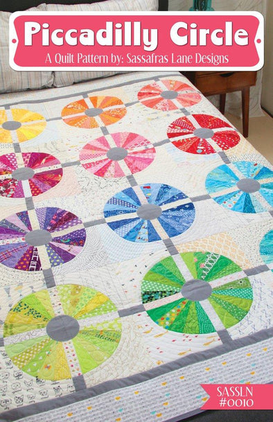 Sassafras Lane Designs Piccadilly Circle  Quilt  Pattern