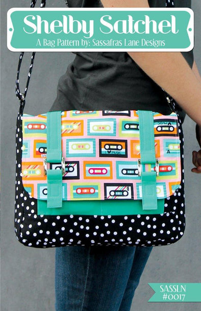 Sassafras Lane Designs Shelby Satchel Bag Pattern