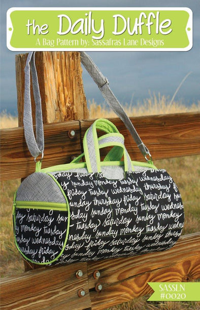 Sassafras Lane Designs The Daily Duffle Bag Pattern