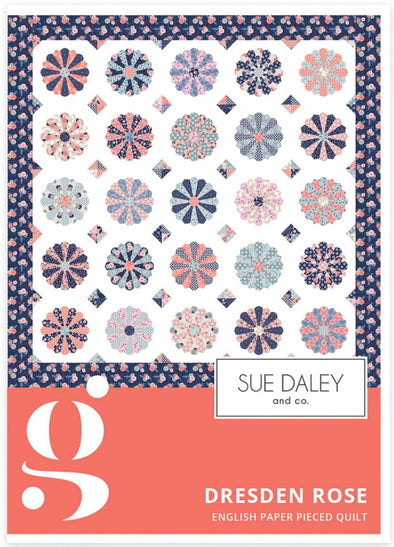 Sue Daley and Co Dresden Rose Quilt