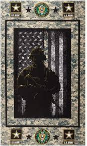 Sykel Enterprises Military Army Cotton Panel