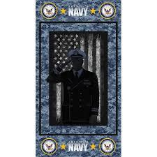 Sykel Enterprises Military Navy Cotton Panel