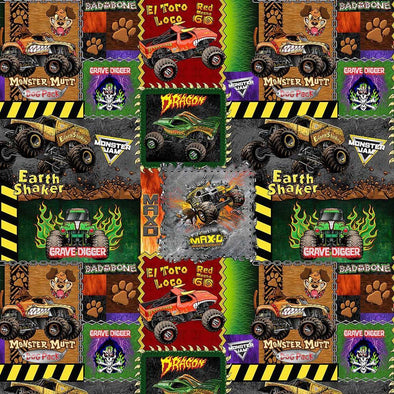 Sykel Enterprises Monster Jam Patch