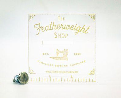 The Featherweight Shop Seam Guide Featherweight Accurate