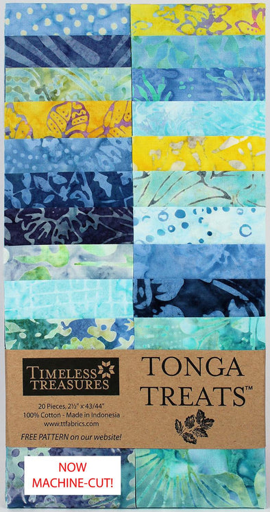 Timeless Treasures Fabrics Tonga Treat Angelfish Strip Jr