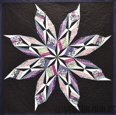 Vector Quilts Crystal Clematis
