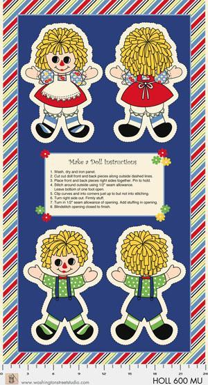 Washington St Studio Holly's Dollies Make a Doll Instructions