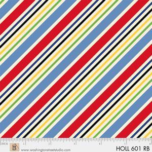 Washington St Studio Holly's Dollies Yellow & Red Stripes