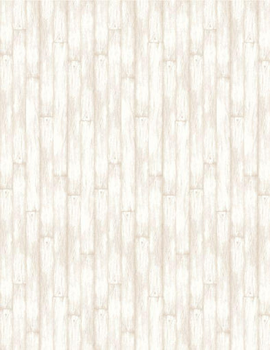 Wilmington Prints - Barn Wood (Cream) - Evergreen Farm
