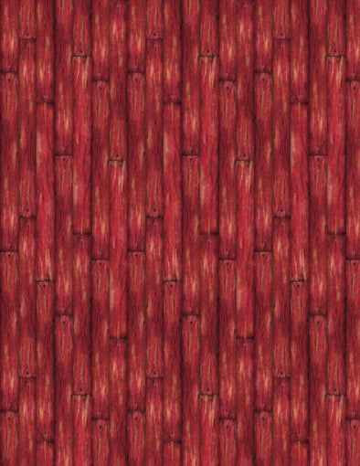 Wilmington Prints - Barn Wood (Red) - Evergreen Farm