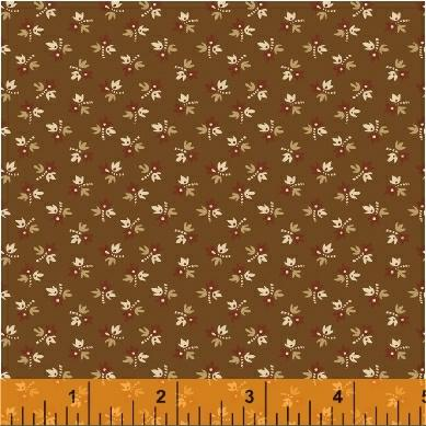 Windham Fabrics The Golden Age Floral Brn