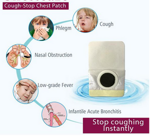 Cough-Stop Chest Patch (Pack of 10pcs/20pcs)