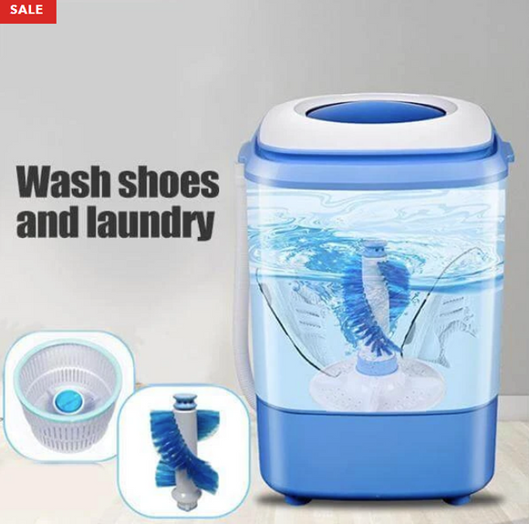 One machine for washing and washing shoes