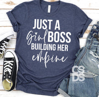 Just a Boss Girl Building Her Empire