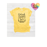 God made Jesus Saved Iowa Raised Tee - Preorder