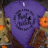 DNA Test 100% That Witch Tee