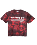 Cougars Lined Design Tee - Youth/Adult