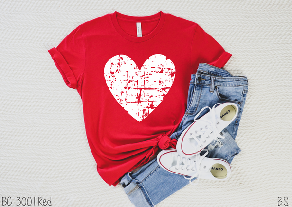 Distressed Hearts Shirt