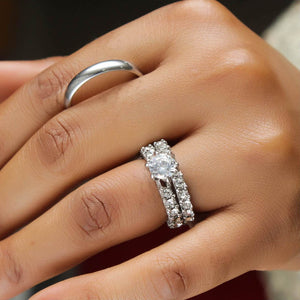 Stainless-Steel-Engagement-Ring-Set-15kweddingrings.jpg