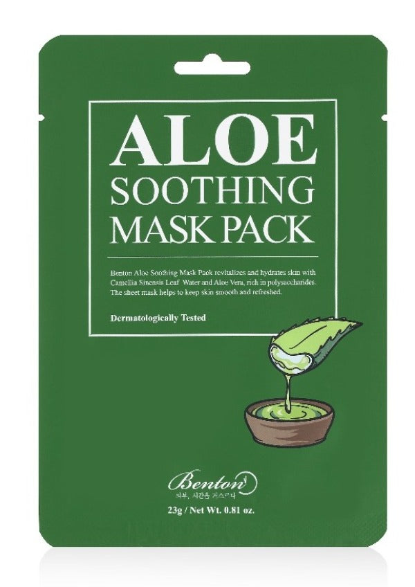 [Benton] Aloe Soothing Mask