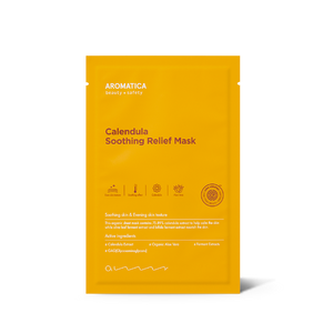 [Aromatica] Calendula Soothing Relief Mask