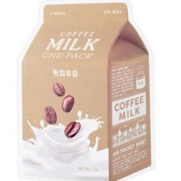 [A'pieu] Coffee Milk One Pack Mask