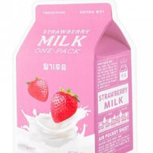 Load image into Gallery viewer, [A'pieu] Strawberry Milk One Pack Mask