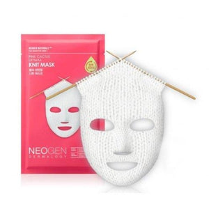 [Neogen] Pink Cactus Liftmax Knit Mask