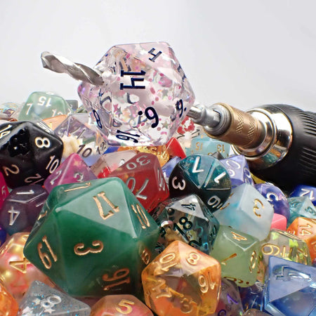 Table Games Dice Polyhedral Dice Set 7 Pieces x 5 Sets FLASHOWL Dice SemiColorful Dice Set D/&D Dice Transparent Dice with 2 Colors Dice for Dungeons /& Dragons 35 Pieces Role Playing Game