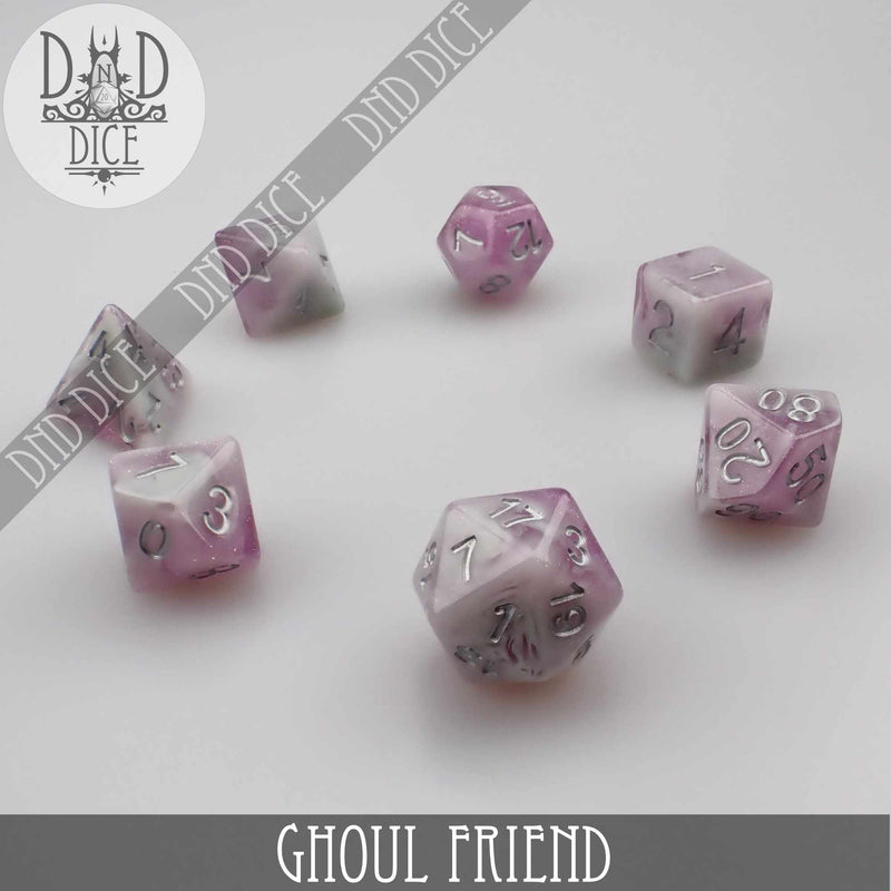 Ghoul Friend Dice Set