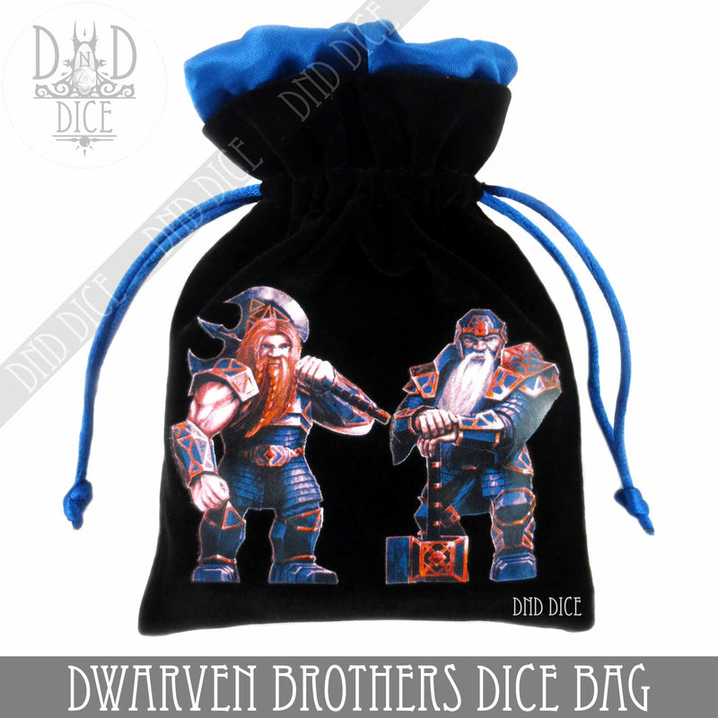 Dwarven Brothers Dice Bag