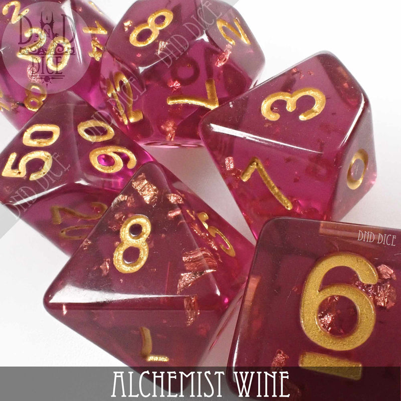Alchemist Wine Dice Set